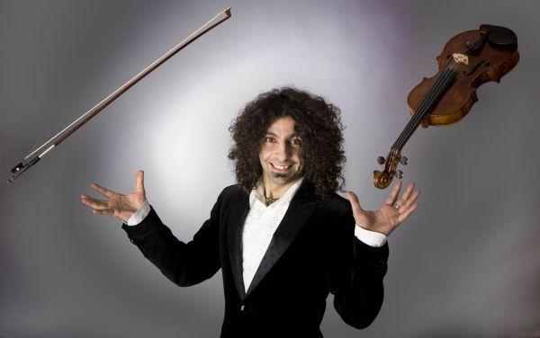 El violinista libanés Malikian vuelve a Almería con 'From Bach to Radiohead'