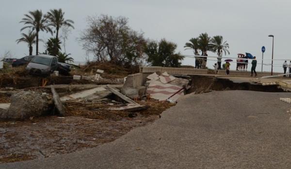 La localidad almeriense de Vera ha sido una de las más afectadas por las riadas