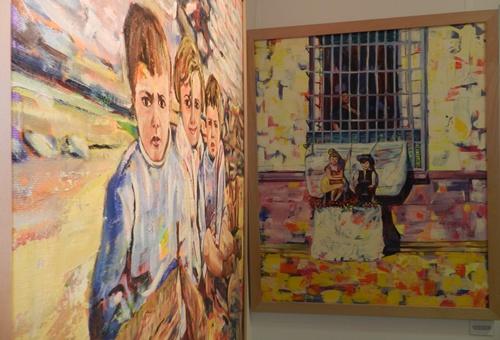 El Cortijo Moreno de Huércal de Almería acoge a 33 obras de las 40 de la colección Memorias
