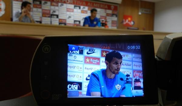 El míster de la UD Almería ha hablado del Guadalajara como un rival muy complicado