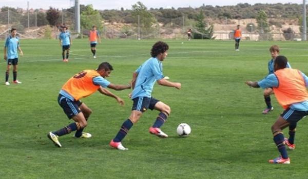 Dos juveniles de la UD Almería están con la selección española Sub-17: Fernández y Antonio Marín