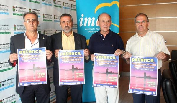 El municipio de El Ejido reunirá a 200 participantes en la Liga Andaluza de Petanca