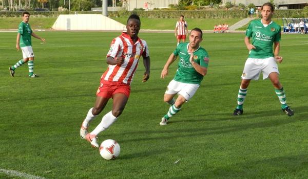 Los hombres de la UD Almería B no han podido con la defensa extremeña