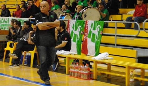 El entrenador de Unicaja Almería está contento con su plantilla