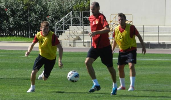 El segunda capitán de la UD Almería es el pichichi del equipo por ahora