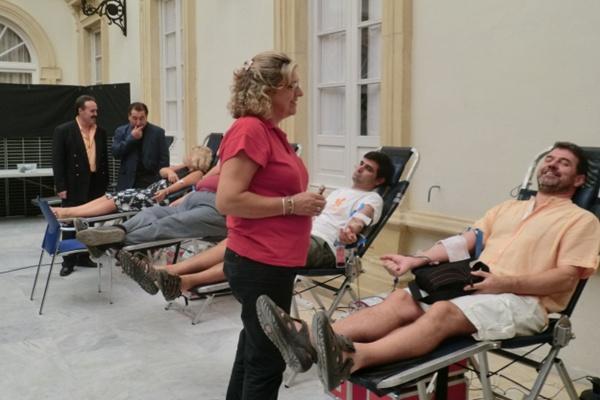 Las campañas del Centro de Transfusiones de Almería han surtido efecto