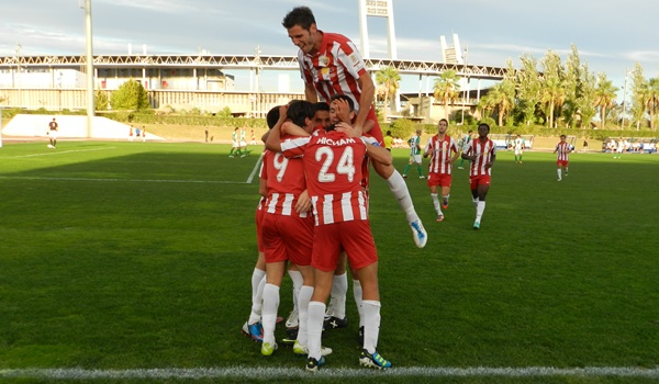 El filial de la UD Almería es un bloque compacto y solvente en Segunda División B