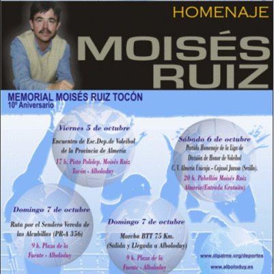 El municipio de Alboloduy y la provincia de Almería recuerdan a Moisés Ruiz en el décimo aniversario de su muerte