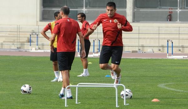 El delantero de la UD Almería guarda un grato recuerdo de la afición del Córdoba