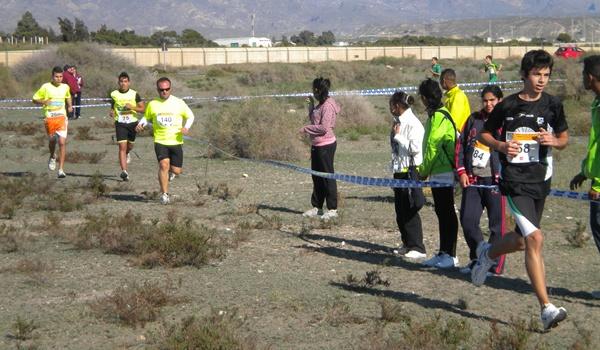 Los Juegos Deportivos Municipales de Almería potencia las carreras campo a través