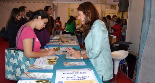 Expositor del Servicio Universitario Empleo