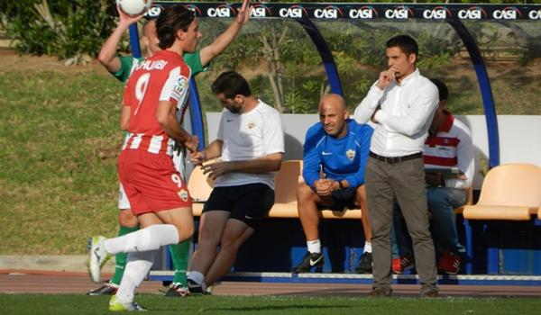 El entrenador del Almería B se siente satisfecho de la marcha del equipo