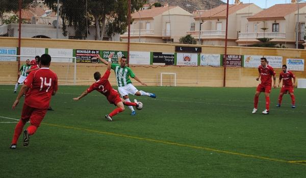 Huércal y Ronda empataron a tres goles en el Municipal de la localidad del Bajo Andarax
