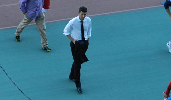 El míster de la UD Almería sigue defendiéndose de las críticas al juego de su equipo en Liga Adelante