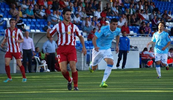 La UD Almería B pierde por primera vez en la liga de Segunda División B