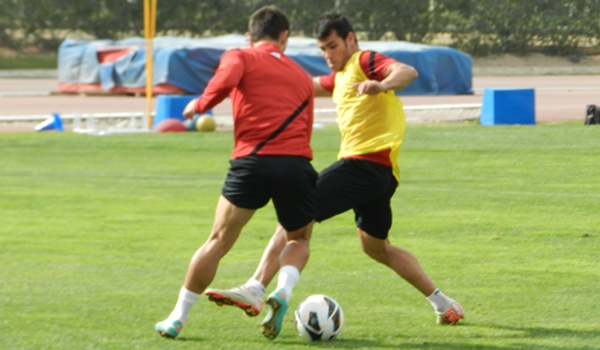 El lateral derecho de la UD Almería regresa a una convocatoria tras varias semanas lesionado