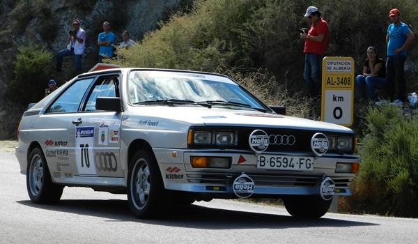 Los coches clásicos también dieron mucho espectáculo en el Rallye Costa de Almería