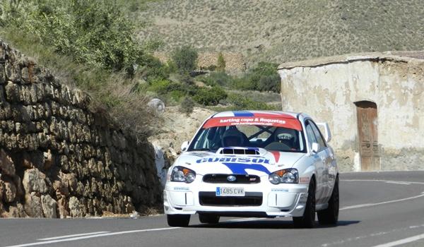 El campeón del Rallye Costa de Almería conducía un Subaru