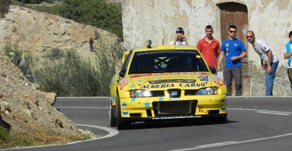 El dominio de los pilotos de Almería fue enorme en este Rallye Cosa de Almería