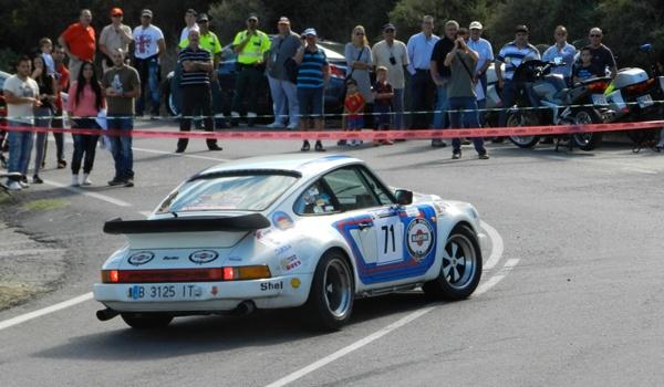 Los participantes han tenido problemas en el tramo del Rallye Costa de Almería que pasaba por El Ricaveral dirección Gérgal