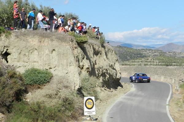 Miles de personas presenciaron en directo el Rallye Costa de Almería