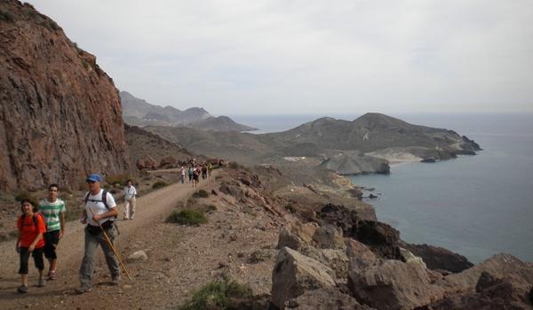 El Programa de Mayores del PMD de Almería sigue ofreciendo senderismo