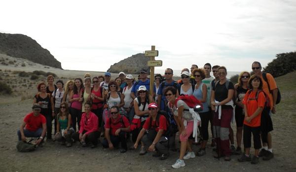 Éxito de participación en el recorrido de un tramo del sendero GR-92