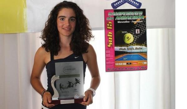 Campeona de Andalucía Sub-15