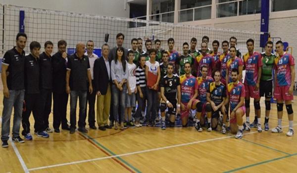 El voleibol de Almería, Cajasol y Alboloduy recordaron a un histórico