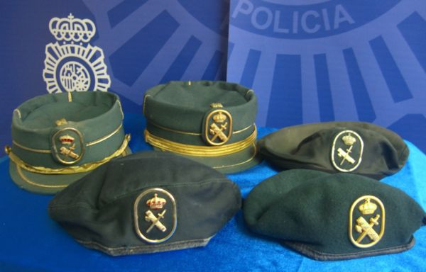 Vestuario Guardia Civil