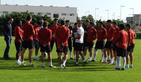 El filial de la UD Almería es un gran bloque con un gran ambiente en esta Segunda División B