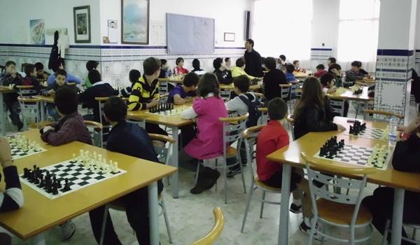 Empiezan los Juegos Deportivos Municipales de Almería de Ajedrez para los de 14 años