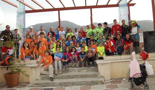 Hubo más de 350 participantes para la Copa de Andalucía de carreras por la montaña