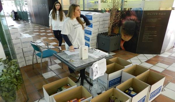 La Gran Recogida de Alimentos cumple su primera jornada en Almería