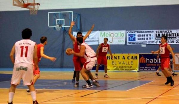 Derrota del equipo almeriense en la Primera Nacional de Baloncesto