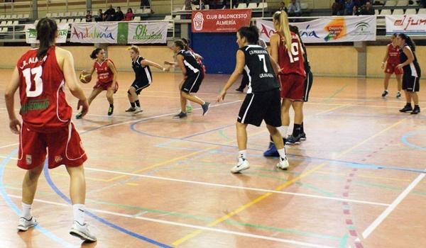 El equipo almeriense de baloncesto femenino lleva una buena marcha