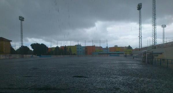 La fuerte lluvia a sorprendido a la capital de Almería y a la zona de Poniente de la provincia