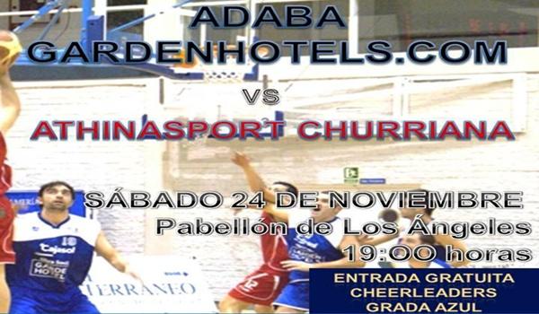 El Adaba Gardenhotels se juega el liderato de la Primiera División Nacional de Baloncesto
