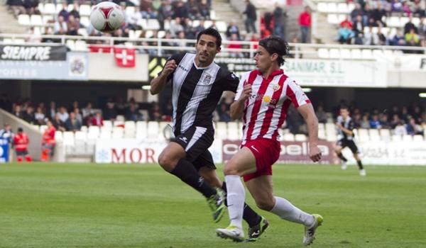 El delantero de Águilas marcó dos goles en esta jornada de Segunda División B