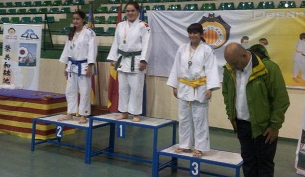 El judo de Adra (Almería) ha triunfa con Natalia Fisher