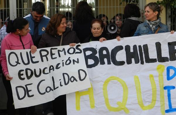 Los vecinos del barrio de Almería han hablado ya con la delegada de Educación, Cultura y Deporte de la Junta de Andalucía