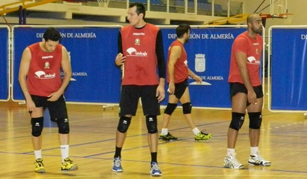 El central de Unicaja pasó dos temporadas muy exitosas en CAI Teruel de voleibol