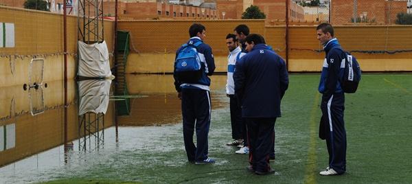 Problemas en Huércal de Almería por causa de la gota fría