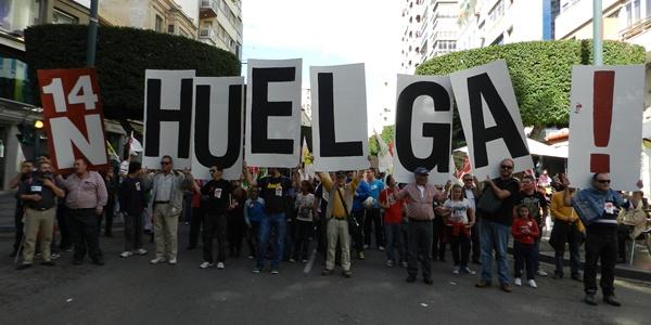 Éxito de seguimiento y de participación en la manifestación en Almería