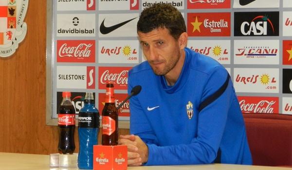 El técnico del Almería ve abierta la eliminatoria de la Copa del Rey