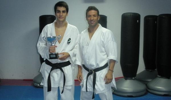 El joven karateka almeriense ha sido convocado con la Selección Andaluza