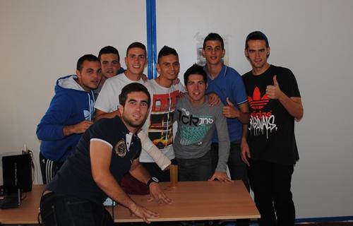 El polígono de La Juaida en Viator sirvió para la reunión del Polideportivo Almería