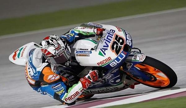 Pruebas de Viñales en Moto 3 en el Circuito de Almería