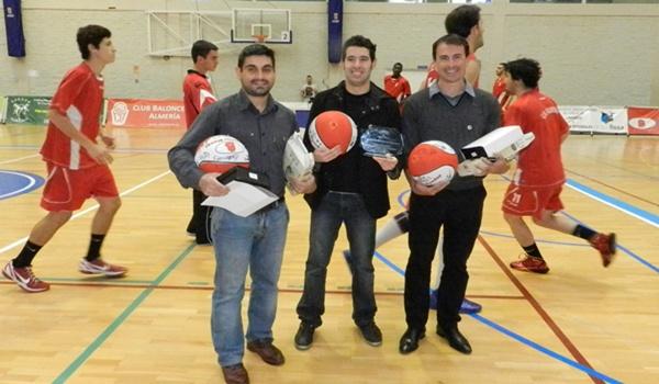 David García del Valle, Carlos Tejada y Pablo Jaramillo