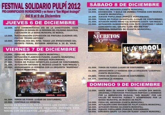 Festival solidario Pulpí